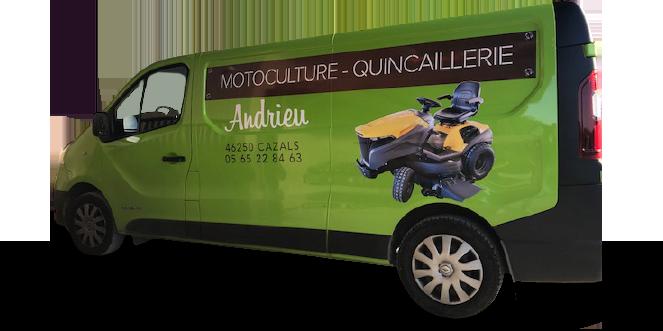 Motoculture - Ferronnerie Andrieu est spécialisée dans la vente et le conseil en équipements et matériels de motoculture à Cazals 74